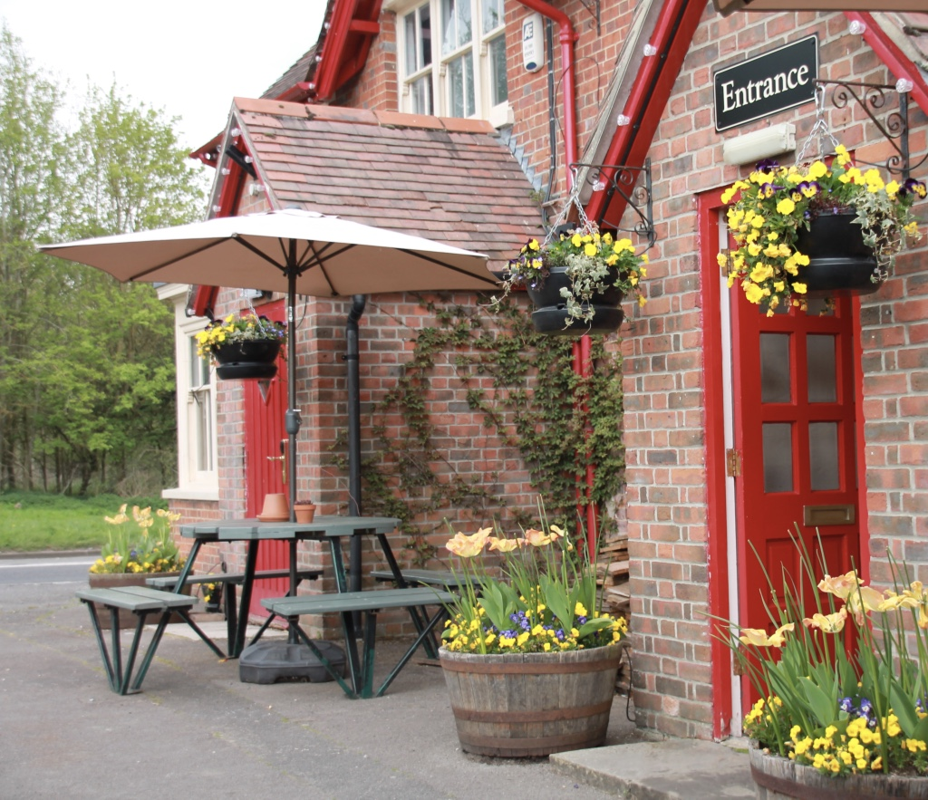 Our typical English country pub...